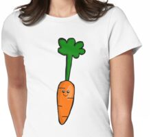 Cute Carrot Womens Fitted T-Shirt