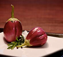 Indian Eggplant by Drew Gregory