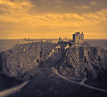 Dunnotar Castle Stonehaven by Panalot