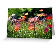 Flowers in Paris Greeting Card