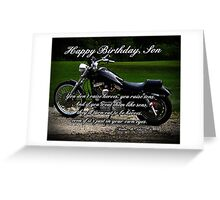 Son Birthday Greeting Card