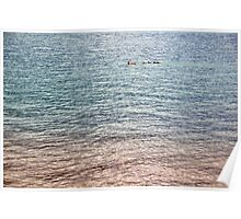 Colors of Water II Poster