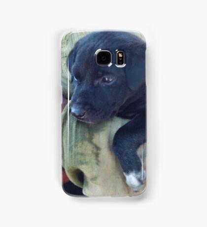 Puppy - Mahabalipuram, India Samsung Galaxy Case/Skin