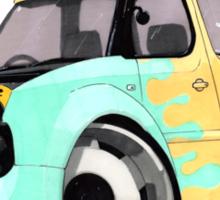 Nissan Cube vs domo Sticker