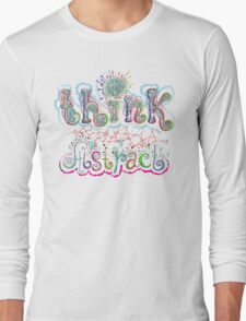 Think Abstract Long Sleeve T-Shirt
