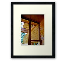 15 degrees Framed Print