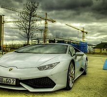 Industrious Lamborghini  by Tyler Roth
