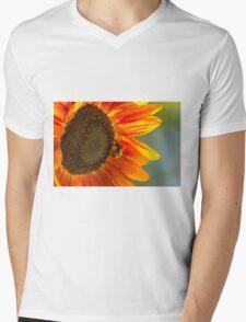 Sunflower 3 Mens V-Neck T-Shirt