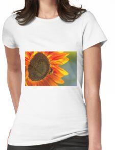 Sunflower 3 Womens Fitted T-Shirt