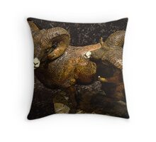 Dodge These Rams Throw Pillow