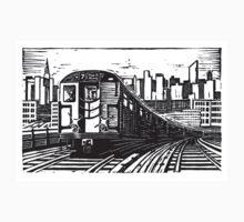 New York Subway Train T-Shirt