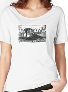New York Subway Train Women's Relaxed Fit T-Shirt