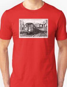 New York Subway Train Unisex T-Shirt