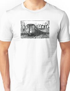 New York Subway Train Unisex T-Shirt