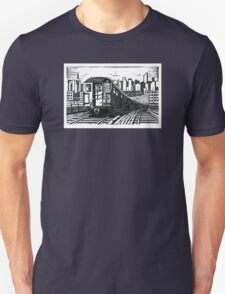 New York Subway Train T-Shirt