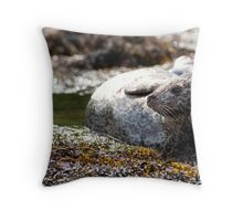The Seal Beauty Throw Pillow