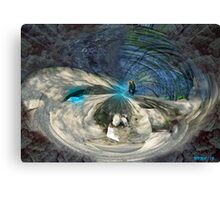 HOLLOW EARTH  Canvas Print