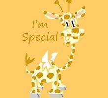 I'm Special - Flying Giraffe by jerasky