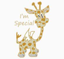 I'm Special - Flying Giraffe Baby Tee