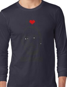 I *HEART* OMAR - 'NO HOMO' Long Sleeve T-Shirt