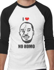 I *HEART* OMAR - 'NO HOMO' Men's Baseball ¾ T-Shirt