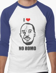 I *HEART* OMAR - 'NO HOMO' Men's Baseball ¾ T-Shirt