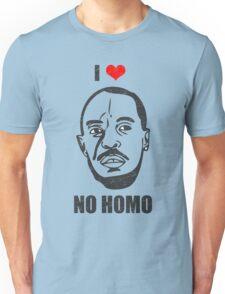 I *HEART* OMAR - 'NO HOMO' Unisex T-Shirt
