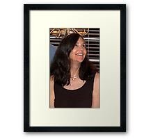 Sweet and smart Framed Print
