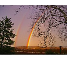 *DOUBLE RAINBOW* Photographic Print