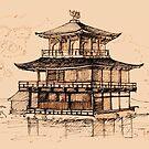 Golden Pavilion by Redilion