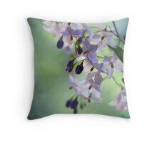 """a secret place"" Throw Pillow"