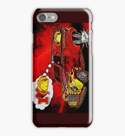 The Taco Wagon Driver's Dream iPhone Case/Skin