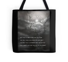 TOLKIEN poetry tree art by ANGIECLEMENTINE Tote Bag