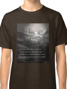 TOLKIEN poetry tree art by ANGIECLEMENTINE Classic T-Shirt