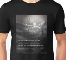 TOLKIEN poetry tree art by ANGIECLEMENTINE Unisex T-Shirt