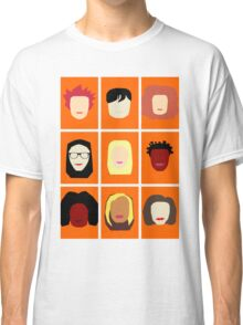 Orange is the New Black Inspired Minimalist Design Classic T-Shirt