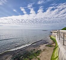 Seawall - Lyme Regis by Susie Peek