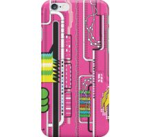 G2 Absract Tech Background iPhone Case/Skin