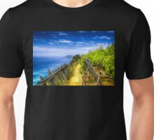 Vineyard in the Italian Riviera Unisex T-Shirt