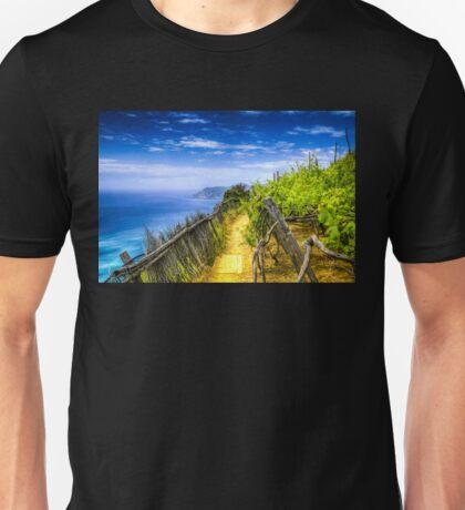 Vineyard in the Italian Riviera Unisex T-Shirt