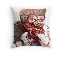 RAGEQUIT Throw Pillow