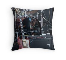 Rivals on Stage Throw Pillow
