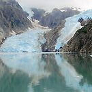 Northwestern Glacier Reflection by Bob Moore