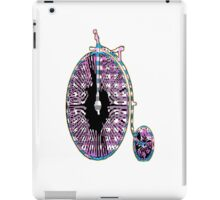 Ride the Penny Farthing iPad Case/Skin