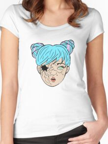 Doll: Ka'eo (color) Women's Fitted Scoop T-Shirt
