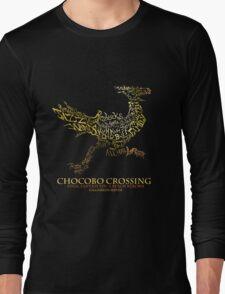 Chocobo Crossing shirt Long Sleeve T-Shirt