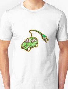 Plug-in Hybrid Electric Vehicle Isolated T-Shirt