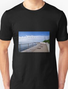 Back Beach 2 - Lyme Regis Unisex T-Shirt