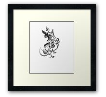 Unwanted Guest Framed Print