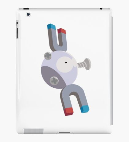 Magnemite Pokemon Simple No Borders iPad Case/Skin